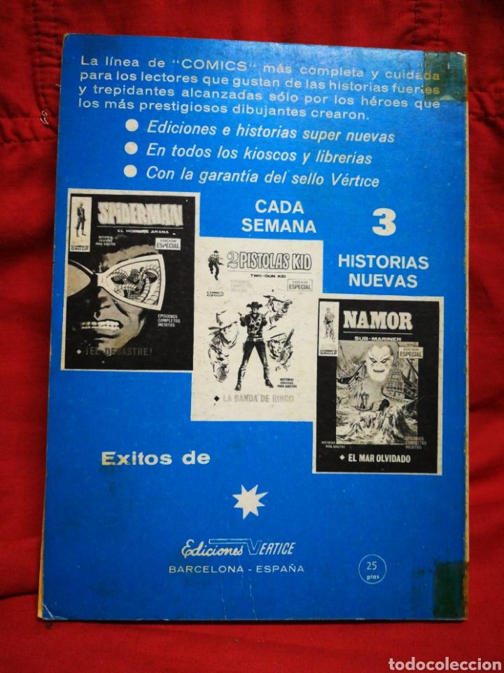 Cómics: PATRULLA X (X-MEN)-EDICIONES VÉRTICE (COMICS GROUP), N°24.EDICION ESPECIAL, TACO. 1971. - Foto 4 - 245617695