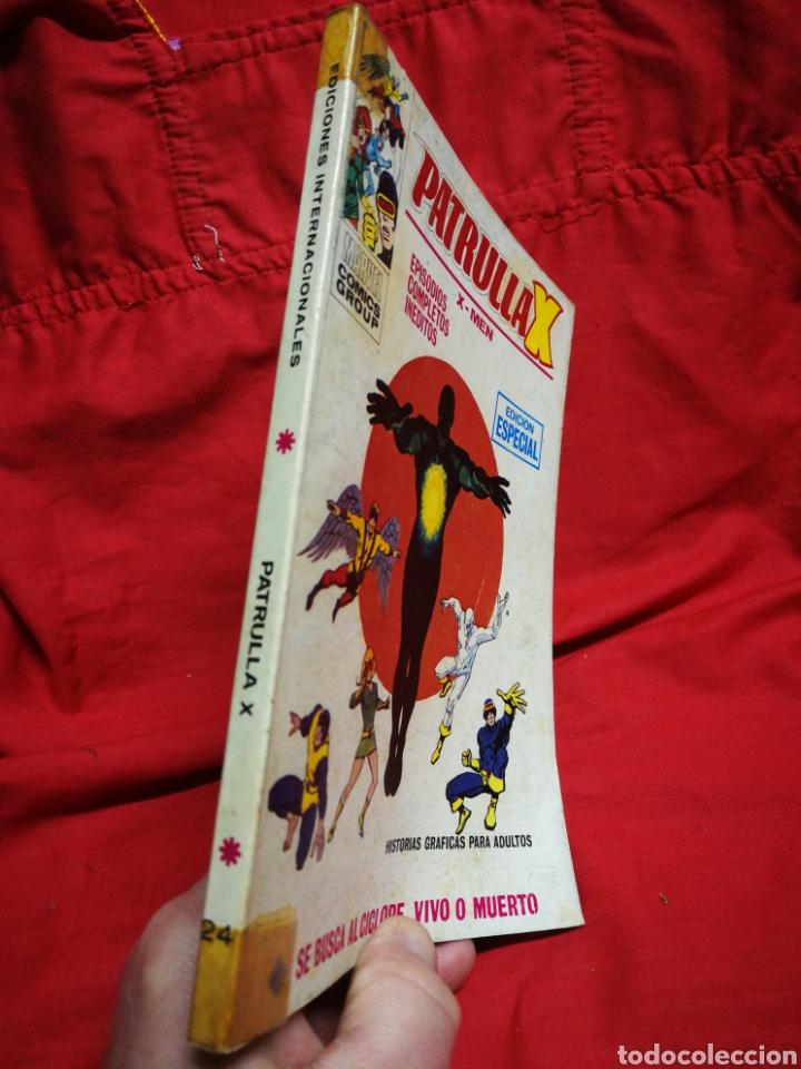 Cómics: PATRULLA X (X-MEN)-EDICIONES VÉRTICE (COMICS GROUP), N°24.EDICION ESPECIAL, TACO. 1971. - Foto 5 - 245617695