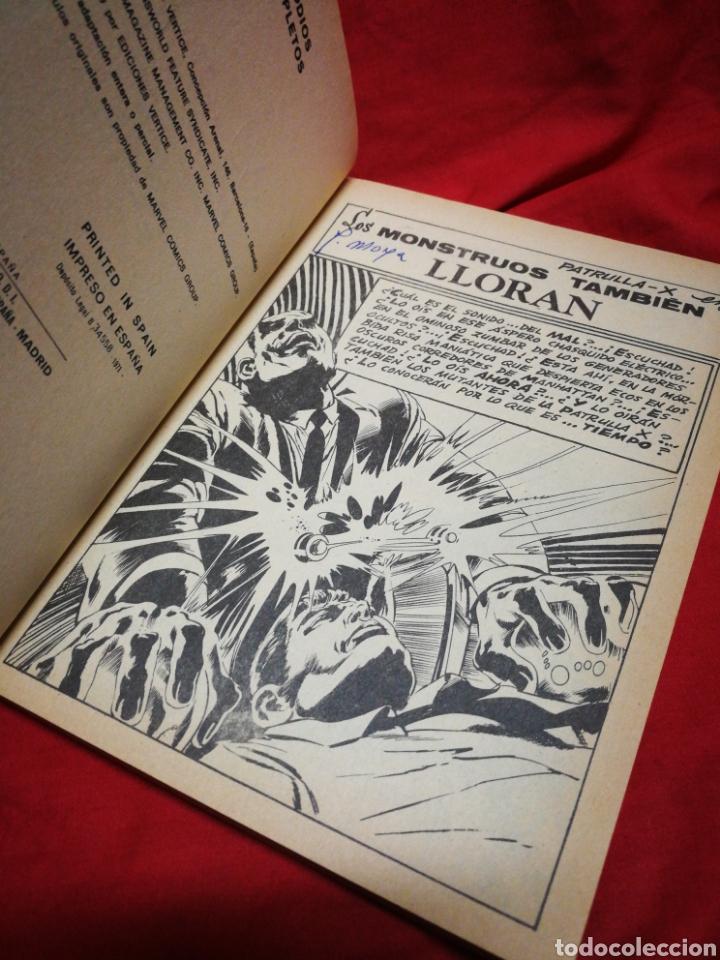 Cómics: PATRULLA X (X-MEN)-EDICIONES VÉRTICE (COMICS GROUP), N°28.EDICION ESPECIAL, TACO. 1971. - Foto 3 - 245619435