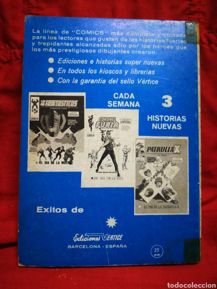 Cómics: PATRULLA X (X-MEN)-EDICIONES VÉRTICE (COMICS GROUP), N°28.EDICION ESPECIAL, TACO. 1971. - Foto 4 - 245619435