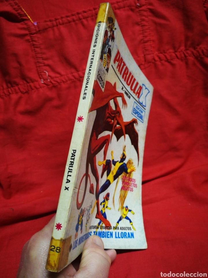 Cómics: PATRULLA X (X-MEN)-EDICIONES VÉRTICE (COMICS GROUP), N°28.EDICION ESPECIAL, TACO. 1971. - Foto 5 - 245619435