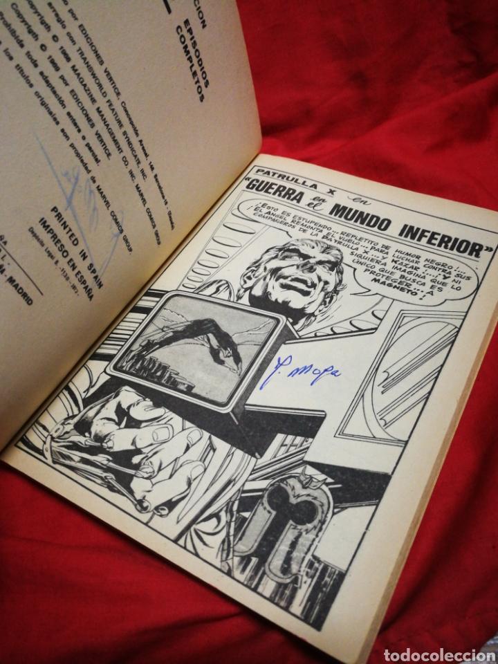 Cómics: PATRULLA X (X-MEN)-EDICIONES VÉRTICE (COMICS GROUP), N°29.EDICION ESPECIAL, TACO. 1972. - Foto 3 - 245619820