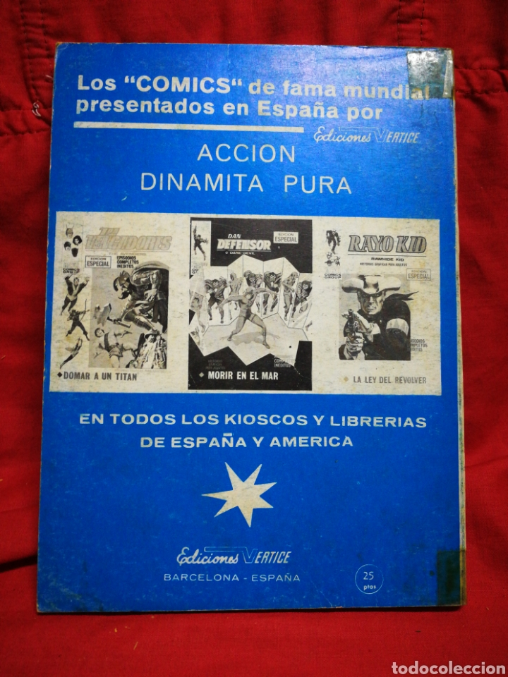 Cómics: PATRULLA X (X-MEN)-EDICIONES VÉRTICE (COMICS GROUP), N°29.EDICION ESPECIAL, TACO. 1972. - Foto 4 - 245619820