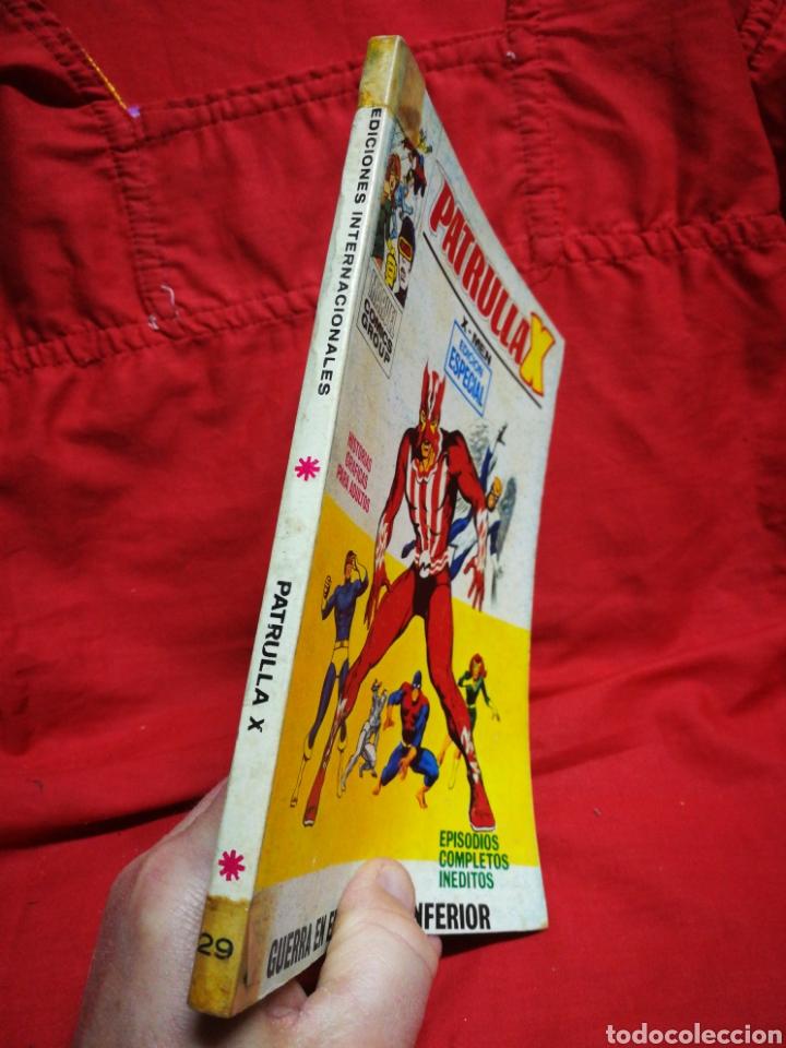 Cómics: PATRULLA X (X-MEN)-EDICIONES VÉRTICE (COMICS GROUP), N°29.EDICION ESPECIAL, TACO. 1972. - Foto 5 - 245619820