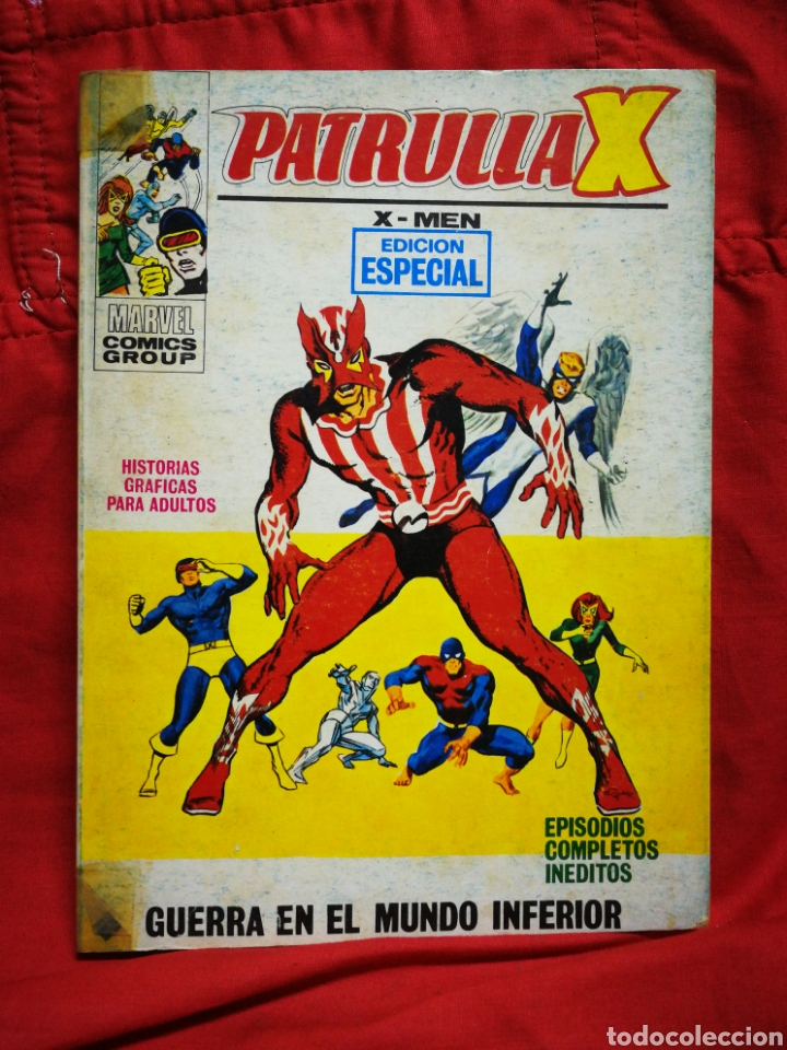 PATRULLA X (X-MEN)-EDICIONES VÉRTICE (COMICS GROUP), N°29.EDICION ESPECIAL, TACO. 1972. (Tebeos y Comics - Vértice - Patrulla X)