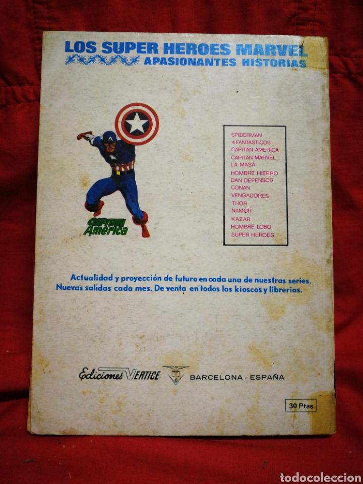 Cómics: PATRULLA X (X-MEN)-EDICIONES VÉRTICE (COMICS GROUP), N°30.EDICION ESPECIAL, TACO. 1975. - Foto 4 - 245620330