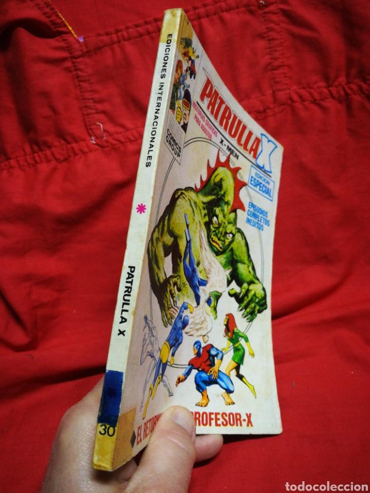 Cómics: PATRULLA X (X-MEN)-EDICIONES VÉRTICE (COMICS GROUP), N°30.EDICION ESPECIAL, TACO. 1975. - Foto 5 - 245620330