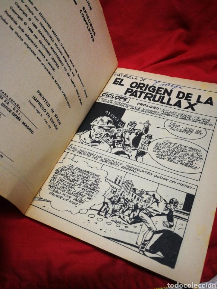 Cómics: PATRULLA X (X-MEN)-EDICIONES VÉRTICE (COMICS GROUP), N°31.EDICION ESPECIAL, TACO. 1972. - Foto 3 - 245620810
