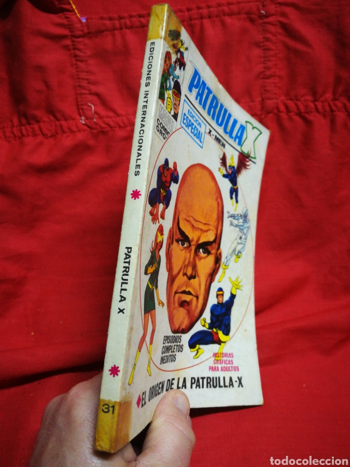 Cómics: PATRULLA X (X-MEN)-EDICIONES VÉRTICE (COMICS GROUP), N°31.EDICION ESPECIAL, TACO. 1972. - Foto 6 - 245620810