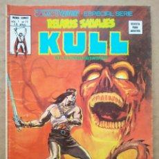 Cómics: RELATOS SALVAJES: KULL EL CONQUISTADOR VOL.1 N°71 (MUNDI/VÉRTICE, 1978). POR THOMAS, BUSCEMA.... Lote 245719085