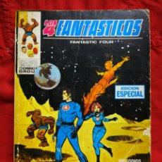 Cómics: LOS 4 FANTASTICOS (FANTASTIC FOUR)-EDICIONES VÉRTICE (COMICS GROUP), N°7-EDICIÓN ESPECIAL,TACO 1970.. Lote 245817725