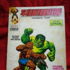 Cómics: LOS 4 FANTASTICOS (FANTASTIC FOUR)-EDICIONES VÉRTICE (COMICS GROUP), N°13-EDICIÓN ESPECIAL,TACO 1970. Lote 245881020