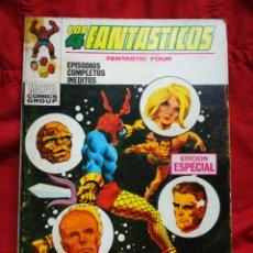 Cómics: LOS 4 FANTASTICOS (FANTASTIC FOUR)-EDICIONES VÉRTICE (COMICS GROUP), N°15-EDICIÓN ESPECIAL,TACO 1970. Lote 245881380