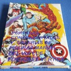 Cómics: LIBRO CON LAS PORTADAS DE LOS COMICS VERTICE DEL VOL. 1 (MAS DE 950),CON CONTRAPORTADAS Y GALERIA DE. Lote 245912645