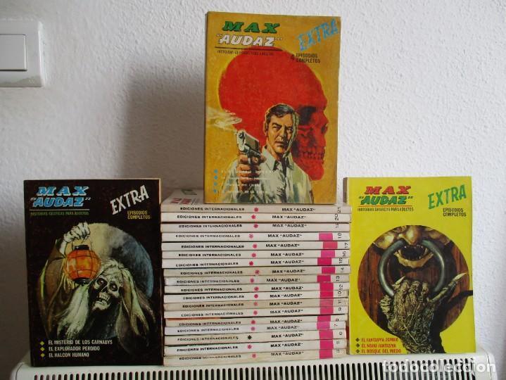 MAX AUDAZ VERTICE TACO ¡¡¡¡ MUY BUEN ESTADO !!!! COLECCION COMPLETA (Tebeos y Comics - Vértice - V.1)