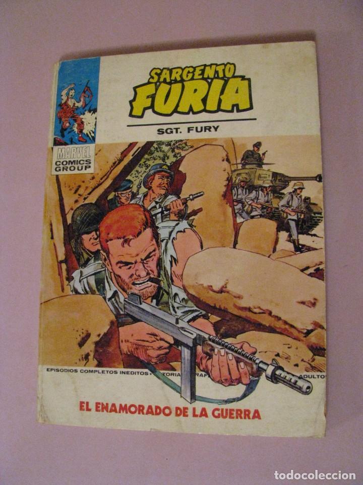SARGENTO FURIA Nº 23. 1973. EL ENAMORADO DE LA GUERRA. MARVEL COMICS GROUP. (Tebeos y Comics - Vértice - Furia)