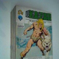 Cómics: KAZAR - VOLUMEN 1 - COLECCION COMPLETA - BUEN ESTADO - 8 NUMEROS - GORBAUD. Lote 246214605