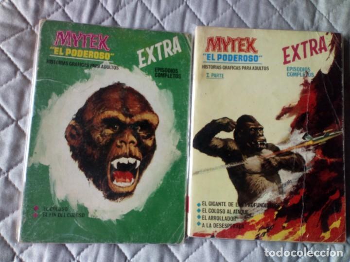 MYTEK EL PODEROSO COLECCIÓN COMPLETA 14 CÓMICS VERTICE (Tebeos y Comics - Vértice - Fleetway)