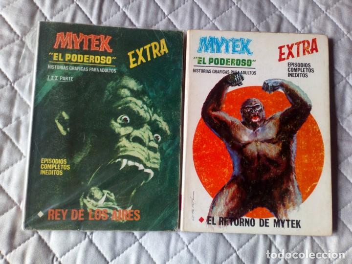 Cómics: Mytek el Poderoso Colección COMPLETA 14 cómics VERTICE - Foto 5 - 246301540