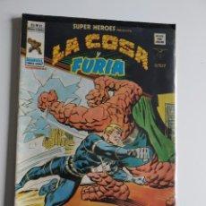 Cómics: VERTICE ~ SUPER HEROES ~ LA COSA Y FURIA ~ VOL.2 Nº87. Lote 246457935