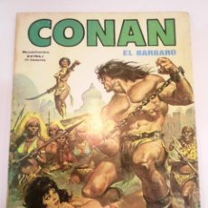 Cómics: RETAPADO 4 COMICS CONAN EL BARBARO HISTORIA COMPLETA DE CONAN EL BUCANERO. Lote 246506210