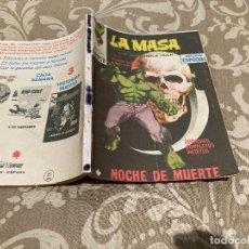Cómics: LA MASA VOL1 - Nº15 NOCHE DE MUERTE - VERTICE DEFECTUOSO. Lote 246922275