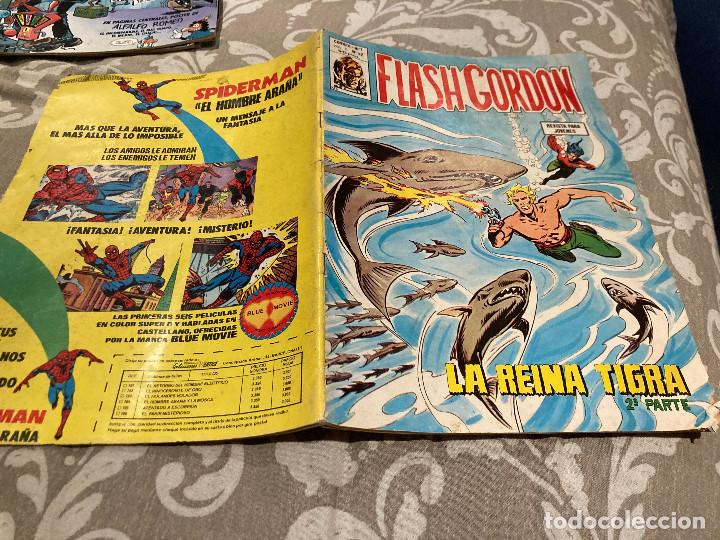 FLASH GORDON V. 1 Nº 42 LA REINA TIGRA - EDICIONES VERTICE (Tebeos y Comics - Vértice - Flash Gordon)