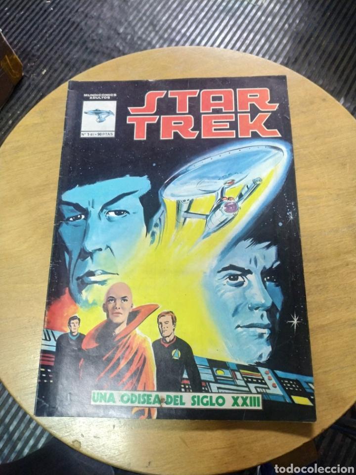 STAR TREK N°1 (VÉRTICE) (Tebeos y Comics - Vértice - Surco / Mundi-Comic)