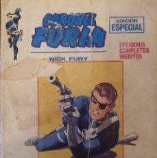 Cómics: CORONEL FURIA (NICK FURIA) - EDICIONES VÉRTICE V.1 Nº. 10 - LOS VALIENTES TAMBIÉN MUEREN.. Lote 247414665