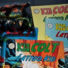Cómics: KID COLT Y LATIGO KID EL ULTIMO GUERRERO MUNDI COMICS ELEGIR. Lote 247983160