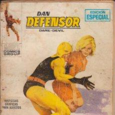"""Cómics: CÓMIC """" DAN DEFENSOR """", Nº 2 ED. VÉRTICE (TACO) AÑOS 70 (CON 128 PGS.( 25 PTAS.). Lote 248106265"""