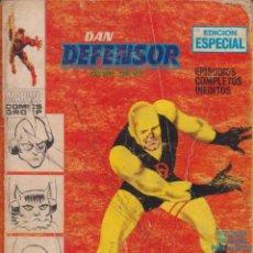 """Cómics: CÓMIC """" DAN DEFENSOR """", Nº 5 ED. VÉRTICE (TACO) AÑOS 70 (CON 128 PGS.( 25 PTAS.). Lote 248107010"""