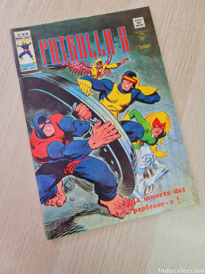 MUY BUEN ESTADO PATRULLA X 19 VOL III MUNDI COMICS VERTICE (Tebeos y Comics - Vértice - Patrulla X)