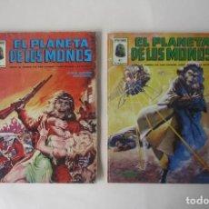 Cómics: 2 COMICS: EL PLANETA DE LOS MONOS - Nº 5 Y 6. Lote 248429305