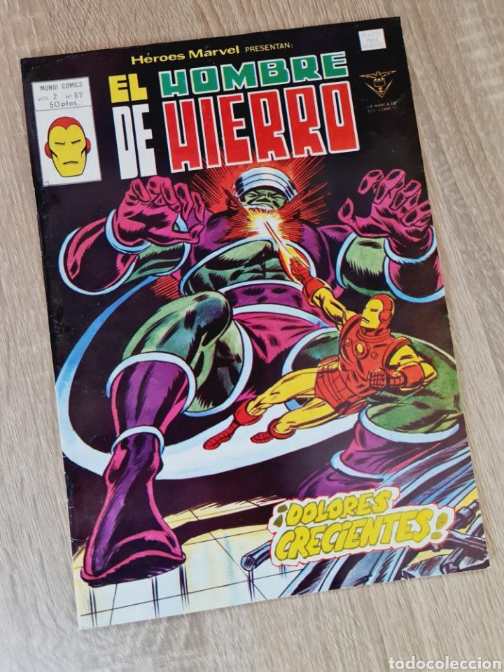 EXCELENTE ESTADO HÉROES MARVEL 62 VOL II EL NOMBRE DE HIERRO COMICS VERTICE (Tebeos y Comics - Vértice - Hombre de Hierro)