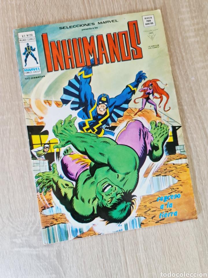 MUY BUEN ESTADO SELECCIONES MARVEL 20 INHUMANOS COMICS VERTICE (Tebeos y Comics - Vértice - Otros)