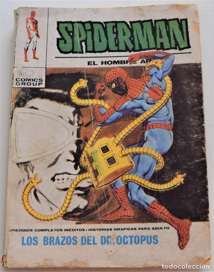 SPIDERMAN Nº 38 - LOS BRAZOS DEL DR. OCTOPUS - EDICIONES VÉRTICE VOL 1 - AÑO 1972 (Tebeos y Comics - Vértice - V.1)
