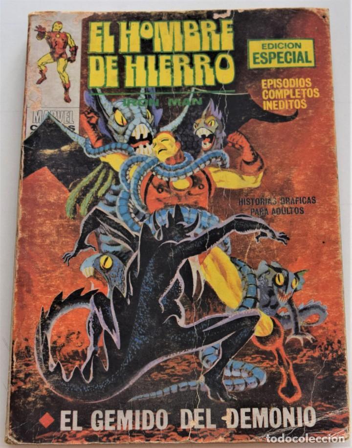 EL HOMBRE DE HIERRO Nº 20 - EL GEMIDO DEL DEMONIO - EDICIONES VÉRTICE VOL 1 - AÑO 1969 (Tebeos y Comics - Vértice - V.1)