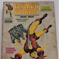 Cómics: EL HOMBRE DE HIERRO Nº 17 - EL TERRIBLE ARIETE - EDICIONES VÉRTICE VOL 1 - AÑO 1969. Lote 249008220