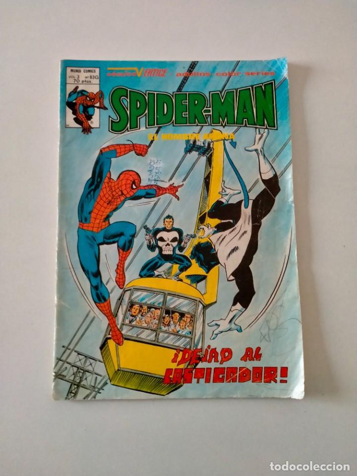 SPIDERMAN V.3 NÚMERO 63 MUNDI-COMICS EDICIONES VÉRTICE AÑO 1980 (Tebeos y Comics - Vértice - Hombre de Hierro)