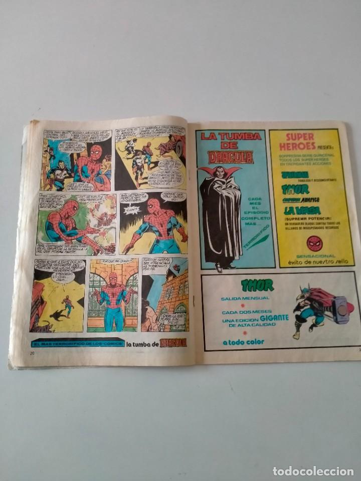 Cómics: Spiderman V.3 número 63 Mundi-Comics Ediciones Vértice Año 1980 - Foto 4 - 249023610