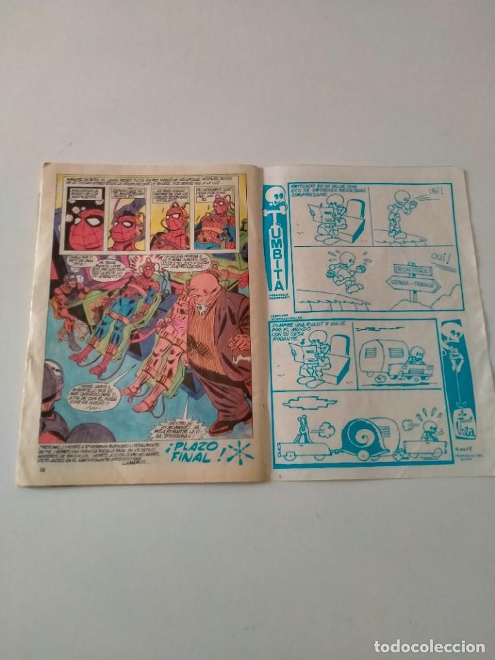 Cómics: Spiderman V.3 número 63 Mundi-Comics Ediciones Vértice Año 1980 - Foto 5 - 249023610