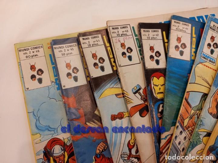 Cómics: LOS VENGADORES. V.2. Lote 12 ejemplares entre nº 34 y 46. VER FOTOS - Foto 2 - 249043965
