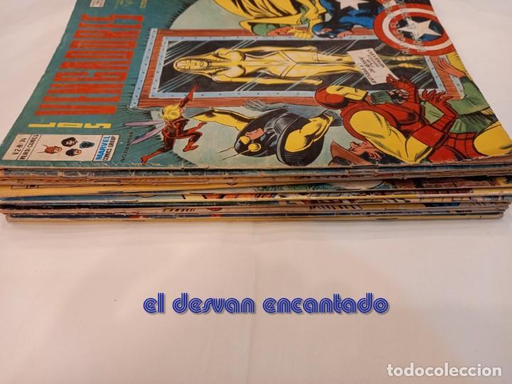 Cómics: LOS VENGADORES. V.2. Lote 12 ejemplares entre nº 34 y 46. VER FOTOS - Foto 5 - 249043965