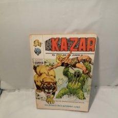 Cómics: KA-ZAR EL REY DE LA JUNGLA 4: LA MARCA DEL HOMBRE COSA (MARVEL COMICS GROUP) PRIMERA EDICIÓN. Lote 248981905