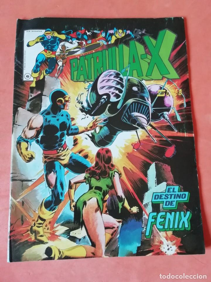 PATRULLA - X. Nº 6 .EL DESTINO DE FENIX. LINEA SURCO. GRAPA. (Tebeos y Comics - Vértice - Patrulla X)