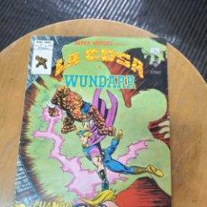 Cómics: SÚPER HEROES PRESENTA : LA COSA Y WUNDARRR VOL 2 N° 122 (VERTICE). Lote 249494000