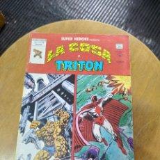 Cómics: SÚPER HEROES PRESENTA : LA COSA Y TRITÓN VOL 1 N° 130 (VÉRTICE). Lote 249497770