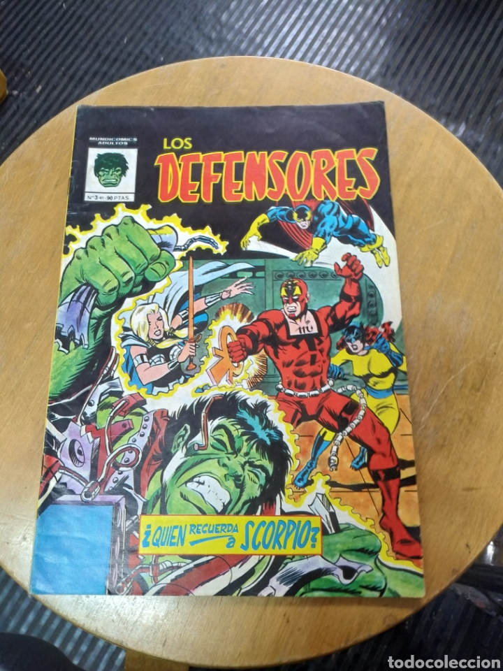 LOS DEFENSORES N° 3 (VÉRTICE) (Tebeos y Comics - Vértice - Surco / Mundi-Comic)