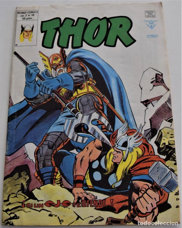 THOR - VOL. 2 Nº 48 - MUNDI COMICS (Tebeos y Comics - Vértice - Thor)